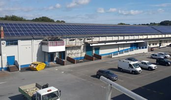 Olympus Business Park - Solar PV Installation